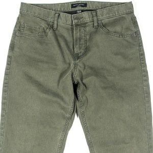 Banana Republic Corduroy Pants Mens Size 32 Green